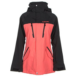 Armada Stadium Womens Insulated Ski Jacket, Coral, 256