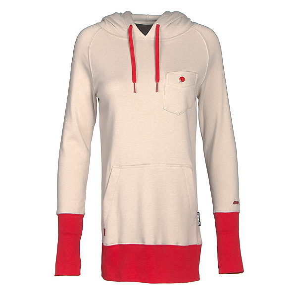 Armada Feather Pullover Womens Hoodie, Canvas, 600