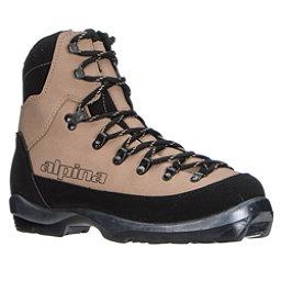Alpina Montana NNN BC Cross Country Ski Boots, Brown, 256