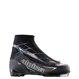 Alpina T 10 NNN Cross Country Ski Boots 2018, Black, 256
