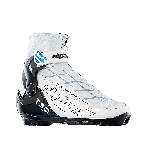 Alpina T 30 Eve Womens NNN Cross Country Ski Boots, White, 600
