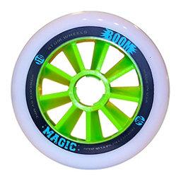Atom Skates Boom Magic 100mm Inline Skate Wheels - 8 Pack, XXFirm, 256