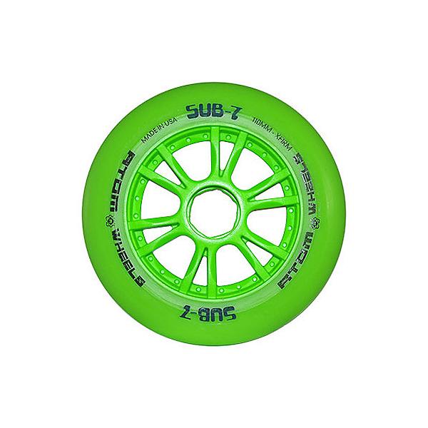 Atom Skates Sub 7 Inline Skate Wheels - 8 Pack, , 600