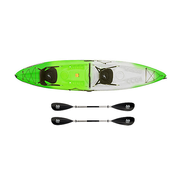 Ocean Kayak Malibu 2XL Tandem Kayak Envy Green - Sport Package, , 600