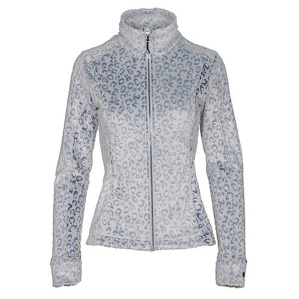 Obermeyer Tess Fleece Womens Jacket, Ice Leopard, 600