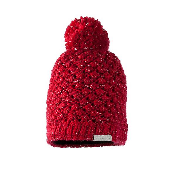 Obermeyer Sunday Knit Womens Hat, Crimson, 600