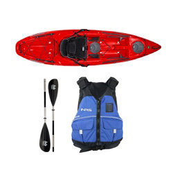 Wilderness Systems Tarpon 100 Red Kayak - Deluxe Package, , 256