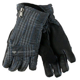 Obermeyer Alpine Womens Gloves, Plaid Heather, 256
