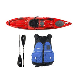 Wilderness Systems Tarpon 120 Red Kayak - Deluxe Package, , 256