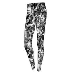 Obermeyer Anni Sport 75wt Womens Long Underwear Pants, Blackout Floral, 256