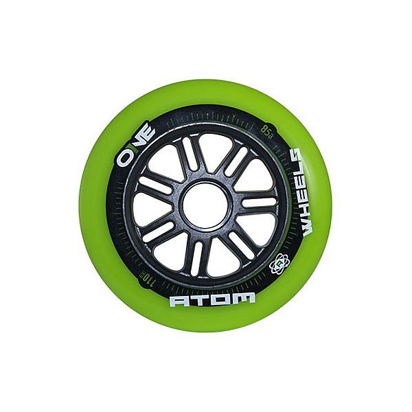 Atom Skates One 110mm Inline Skate Wheels - 8 Pack 2016, , 600