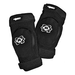 Atom Skates Elite Elbow Pads, Black, 256