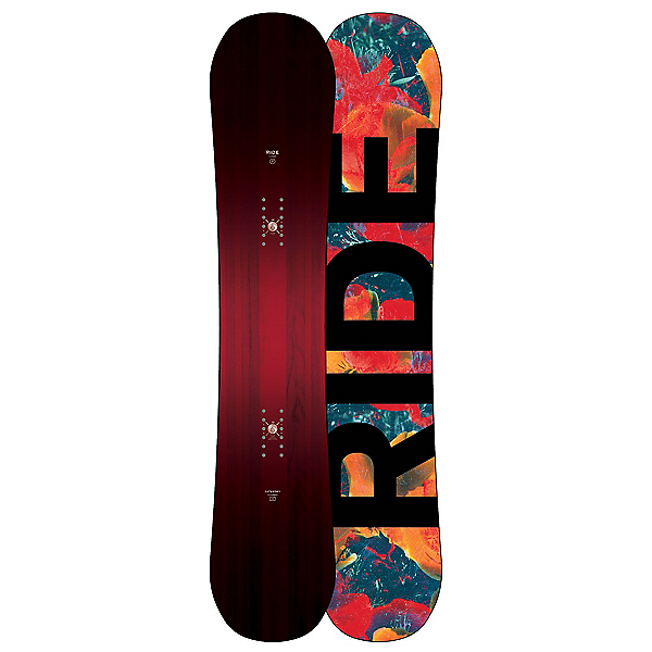 Ride Saturday Womens Snowboard, 142cm, 600