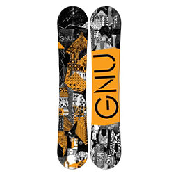 Gnu Carbon Credit BTX Boys Snowboard, Orange, 256