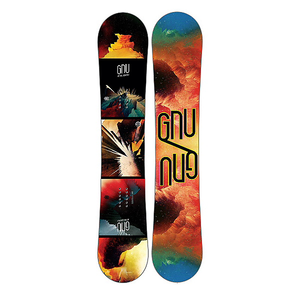 Gnu Metal Gnuru EC2 BTX Snowboard 2017, , 600