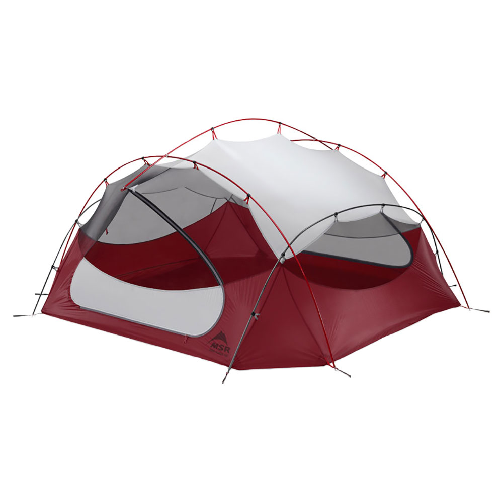 MSR Papa Hubba NX 4-Person Backpacking Tent im test