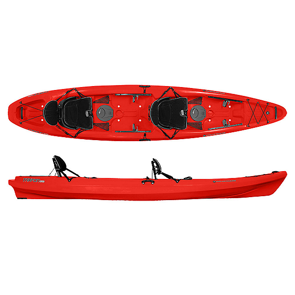 Wilderness Systems Tarpon 135 Tandem Kayak 2020, Red, 600