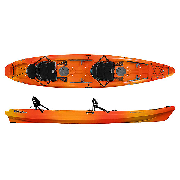 Wilderness Systems Tarpon 135 Tandem Kayak 2019, Mango, 600