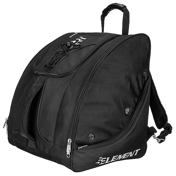 5th Element Bomber Boot Bag, Black-Silver, 600