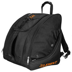 5th Element Bomber Boot Bag 2018, Black-Orange, 256