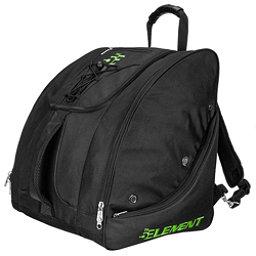 5th Element Bomber Boot Bag, Black-Green, 256