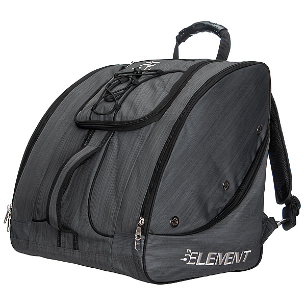 5th Element Bomber Boot Bag, Heather Dark Grey, 600
