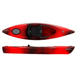 Perception Prodigy 10 Kayak 2018, Red Tiger Camo, 256