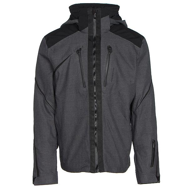 Obermeyer Proton Mens Insulated Ski Jacket, Herringbone, 600