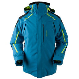 Obermeyer Charger Mens Insulated Ski Jacket, High Seas, 256