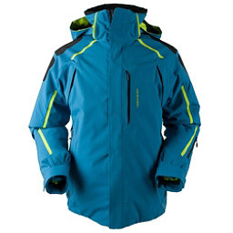 Obermeyer Charger Tall Mens Insulated Ski Jacket, High Seas, 256