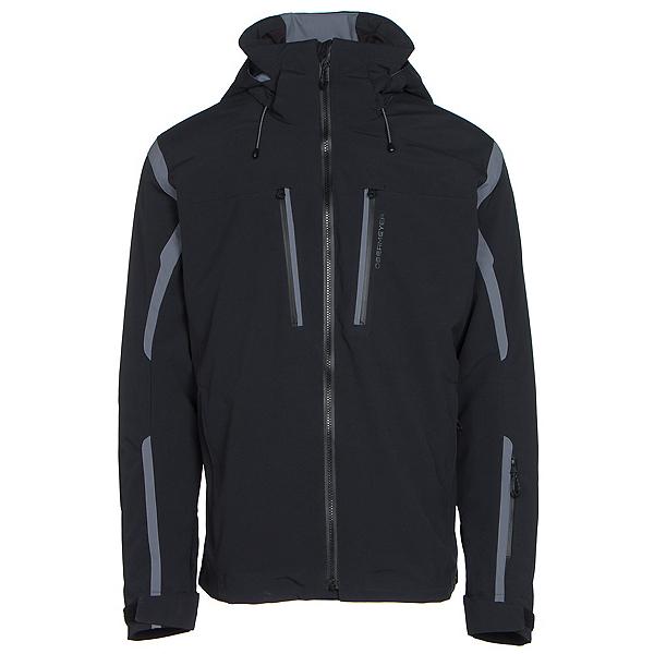 Obermeyer Trilogy 3 in 1 Mens Insulated Ski Jacket, Black, 600