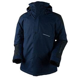 Obermeyer Foundation Tall Mens Insulated Ski Jacket, Storm Cloud, 256