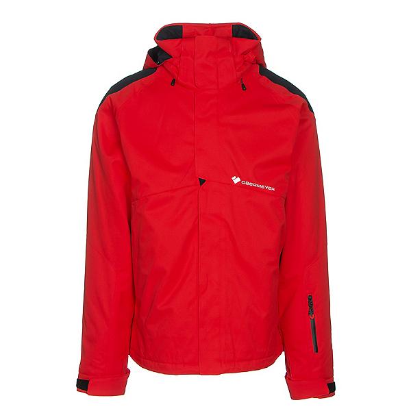 Obermeyer Foundation Mens Insulated Ski Jacket, Red, 600