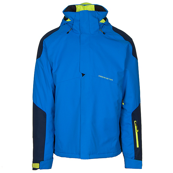 Obermeyer Foundation Mens Insulated Ski Jacket, Stellar Blue, 600