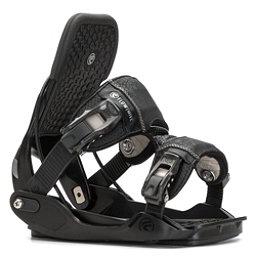 Flow Minx Womens Snowboard Bindings, Black, 256