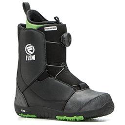 Flow Micron Boa Kids Snowboard Boots, Black, 256
