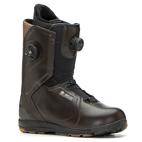 Flow Hylite Heel-Lock Focus Snowboard Boots, Brown, 600
