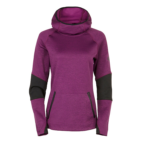 686 GLCR Storm Tech Fleece Pullover Womens Hoodie, , 600