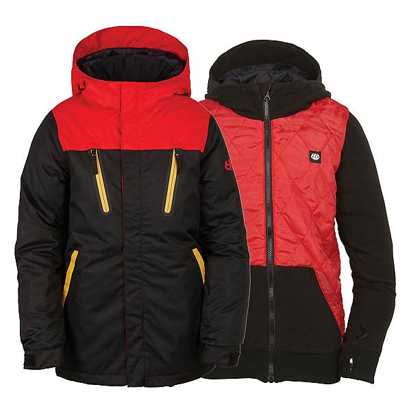 686 Smarty Merge Boys Snowboard Jacket, , 600