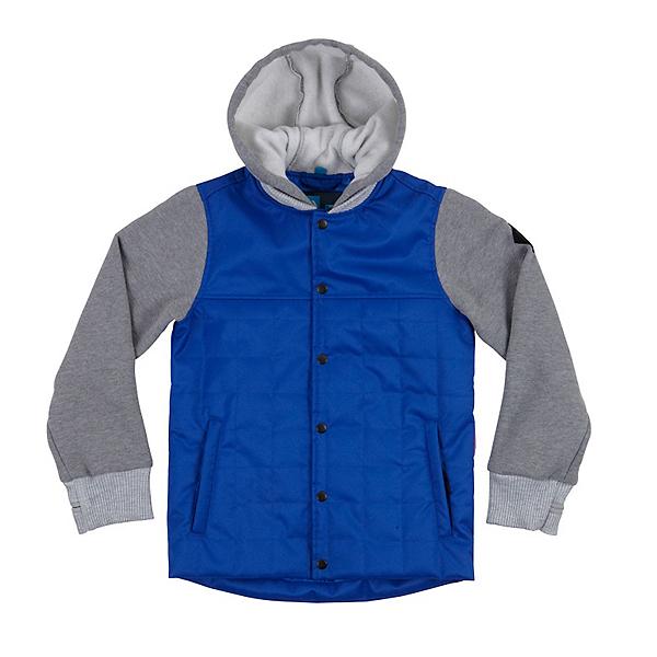 686 Bedwin Insulated Boys Snowboard Jacket, Cobalt Blue, 600