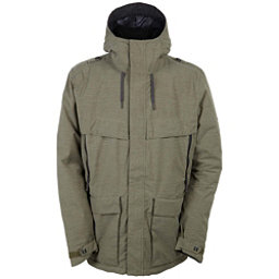 686 Parklan Field Mens Insulated Snowboard Jacket, Olive Heather, 256