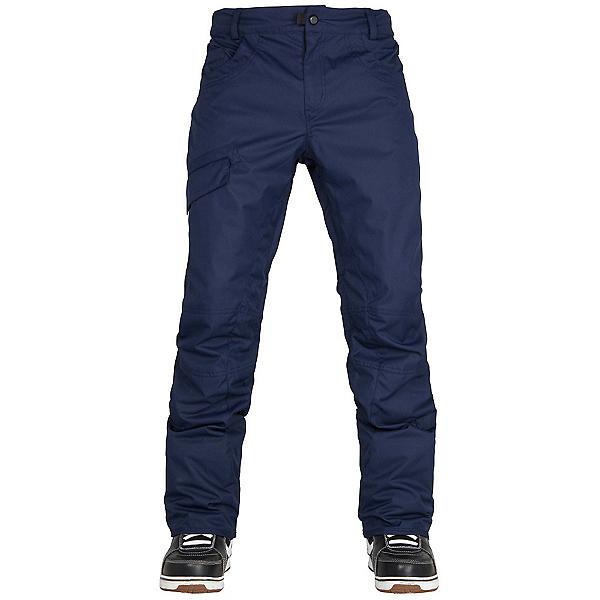 686 Parklan Shadow Mens Snowboard Pants, Midnight Blue, 600