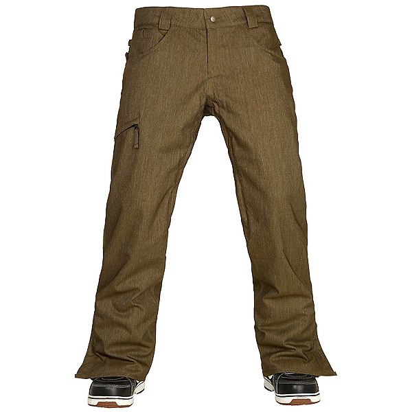 686 Authentic Raw Insulated Mens Snowboard Pants, , 600