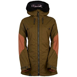 686 Parklan Fortune Womens Insulated Snowboard Jacket, Olive, 256