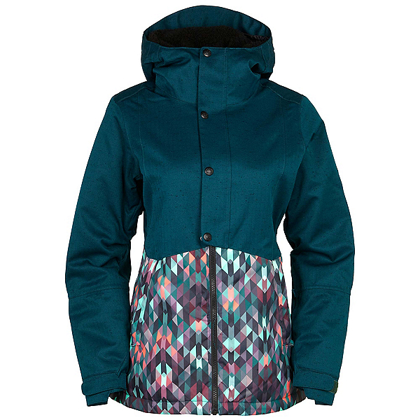 686 Authentic Rumor Womens Insulated Snowboard Jacket, , 600