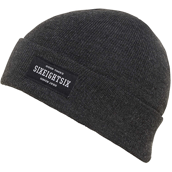 686 Good Times Roll Up Beanie, Black, 600