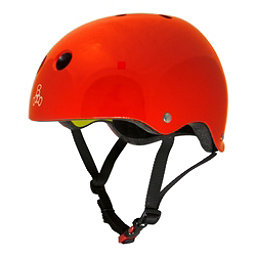 Triple 8 Brainsaver II with MIPS Mens Skate Helmet 2017, Big Apple Red Glossy, 256