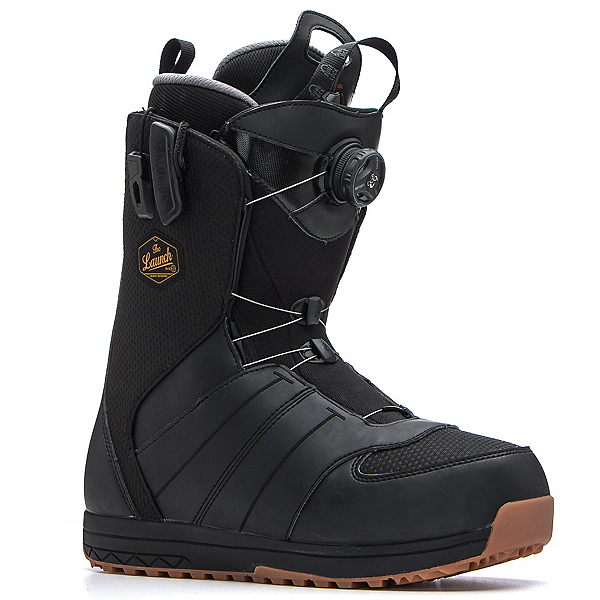 Salomon Launch Boa Str8jkt Snowboard Boots, Black, 600