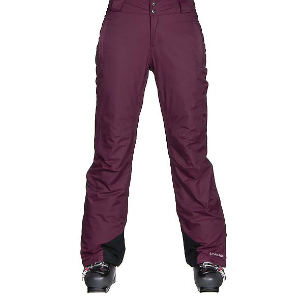 Columbia Bugaboo Omni-Heat Womens Ski Pants, Purple Dahlia, 600