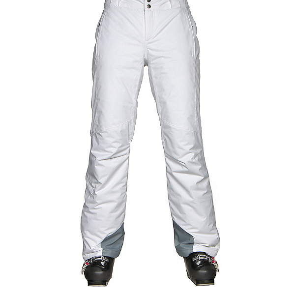 Columbia Bugaboo Omni-Heat Pant - Plus Size Womens Ski Pants, White, 600